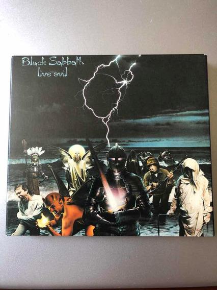 Cd Black Sabbath - Live Evil - Duplo - Digipack - Novo
