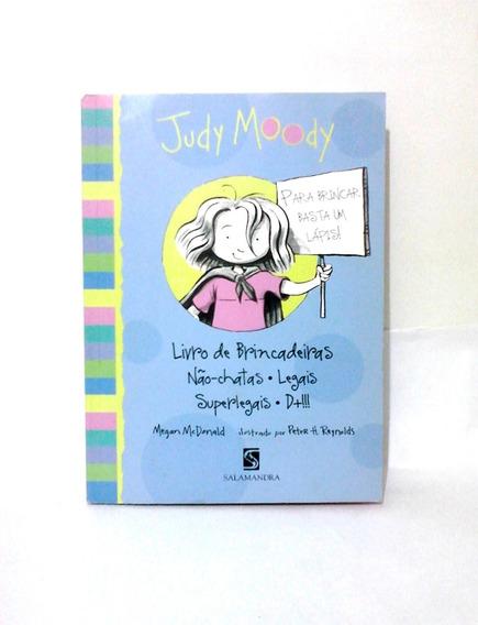 Judy Moody Livro De Brincadeiras Legais(livro Usado)