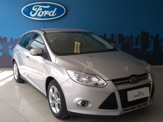 Ford Focus 1.6 S 16v Flex 2014 Prata