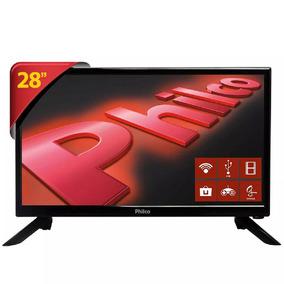 Tv Led 28 Philco Smart Tv Ph28n91dsg Conversor 1 Hdmi 1 Usb