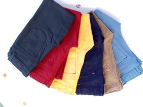 Pantalon De Gabardina Para Niño Talla 4 A La 12