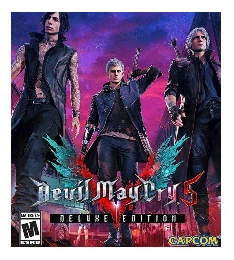 Devil May Cry 5 Deluxe Edition-pc-dvd(midia Fisica)
