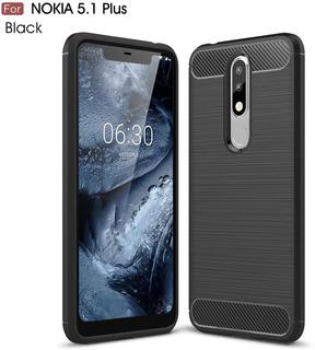Funda Slim Para Nokia 5.1 Plus (negro)