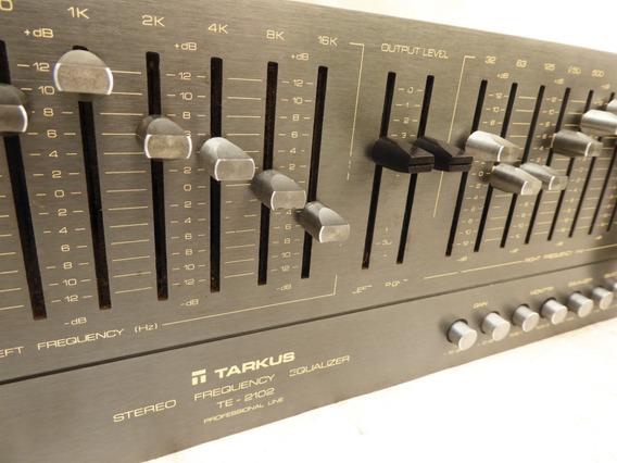 Equalizador Tarkus Mod. Te - 2102 - Cinza Linha Gradiente A1