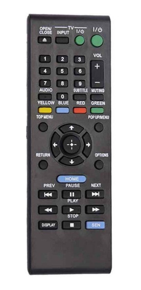 Controle Remoto Dvd Blueray Sony Rmt-b120a S1100 S3100 S5100