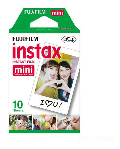 Filme Fujifilm Instax Mini 10 Fotos Colorido - 705060212