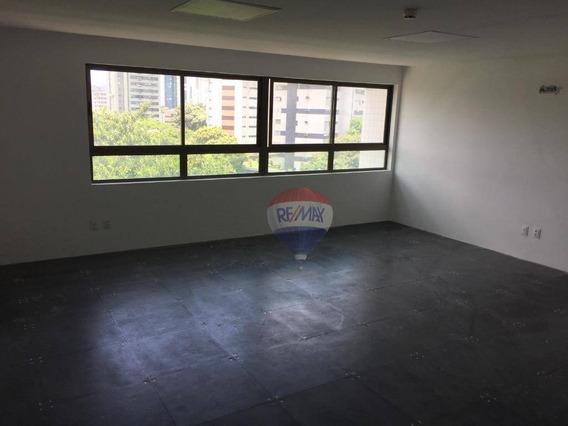 Sala Para Alugar, 43 M² Por R$ 1.800,00/mês - Graças - Recife/pe - Sa0050