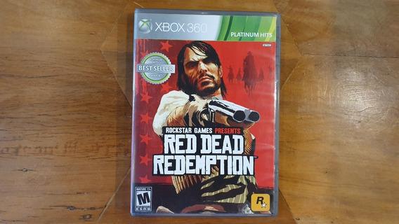 Red Dead Redemption Original E Completo Para Xbox 360