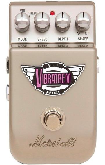 Pedal Para Guitarra Marshall Vt-1 Vibratrem Vibrato Tremolo - Com Nota Fiscal E Garantia De 2 Anos Proshows!
