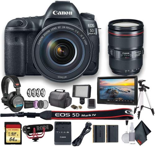 Original Canon 5d Mark Iv Cameras With 24-105mm Lens