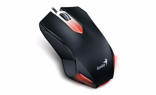 Mouse Optico Usb 1000 Dpi Genius X-g200 Negro Htg