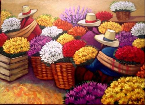 Cuadro Andino.pinturas Para Sala Hogar