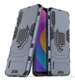 Forro Xiaomi Mi A3 Case Robot Armor Con Anillo
