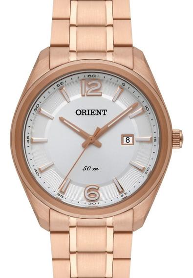 Relógio Orient Feminino Rose Gold - Frss1032 B1rx