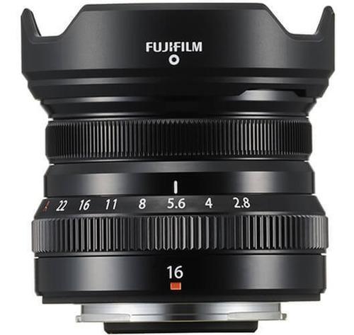 Imagem 1 de 5 de Lente Fujifilm Xf 16mm F/2.8 R Wr (preta)