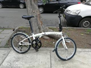 Bicicleta Plegable Dahon D6v La Plata