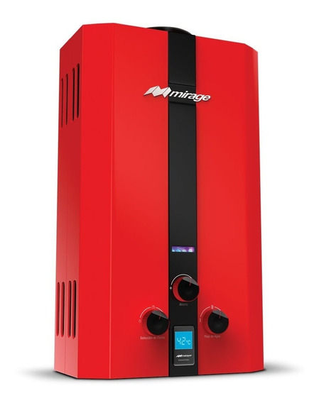 Boiler De Paso Calentador Mirage Gas Lp 10 Litros Flux