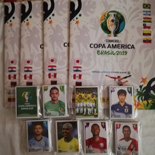 Laminas Album Copa America Brasil 2019.