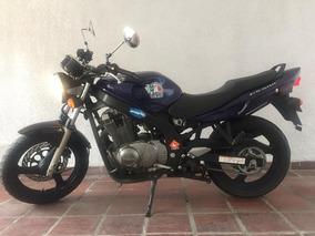 Suzuki Gs500 Azul Como Nueva