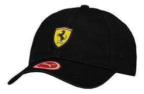Boné Puma Scuderia Ferrari Fanwear Preto