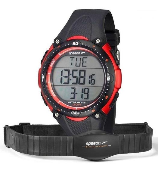 Relógio Esportivo Monitor Cardíaco Speedo Contador Passos