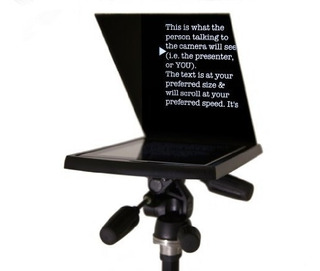 Prompt-itâ® Maxi Teleprompter With Beamsplitter Glass