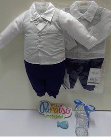 179501528 Tip Top Com Gravata - Roupas de Bebê no Mercado Livre Brasil