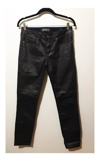 Calça Jeans Resinada Café Canal Concept 38