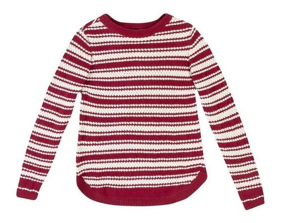Blusão Feminino Em Tricô Texturizado Hering - 324k4a7 Bor Pt