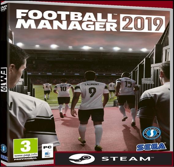 Football Manager 2019 + Editor Steam (leia A Descrição)