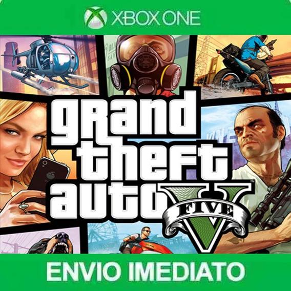 Gta 5 Xbox One Original Promoção - Grand Theft Auto 5