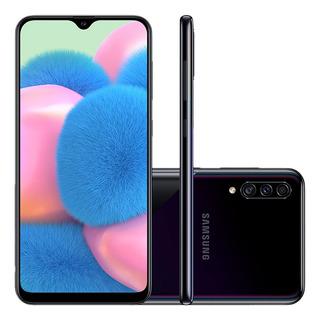 Smartphone Samsung Galaxy A30s 64gb 6,4 Câmera Tripla Preto