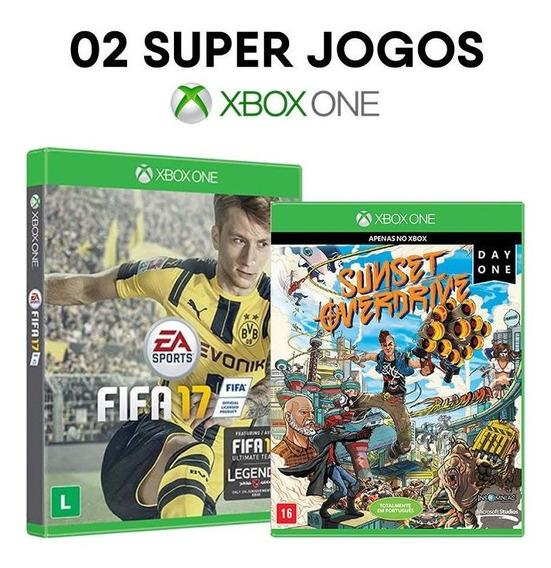 Fifa 17 + Sunset Overdrive - Xbox One - Mídias Lacradas