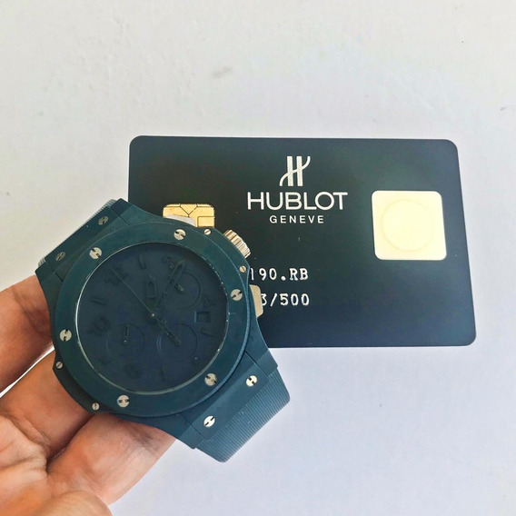 Hublot Big Bang All Blue 44 Mm Edição Limitada