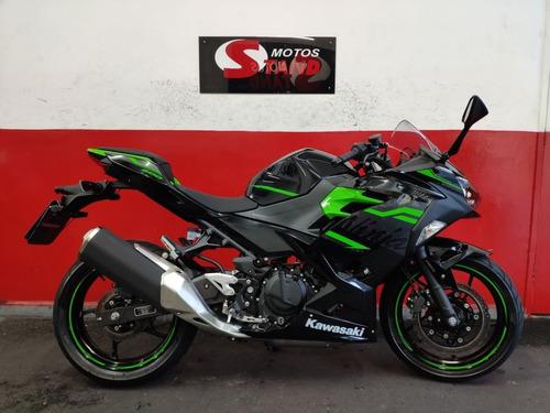 Imagem 1 de 11 de Kawasaki Ninja 400 Abs 2020 Preta Preto