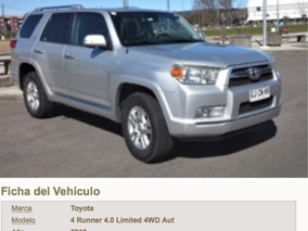 Toyota 4runner 4x4 At Limited 4x4 At Full