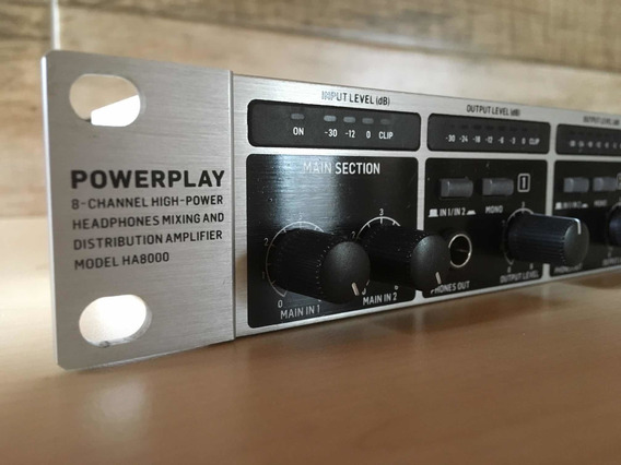 Powerplay Behringer 8 Vias