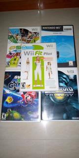Set De Juegos Wii Originales