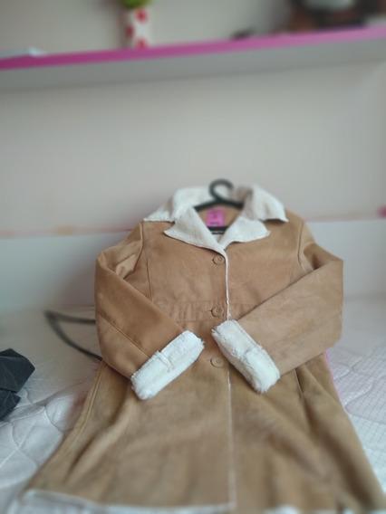 Casaco De Frio Femino Marrom Claro - Roupas Femininas