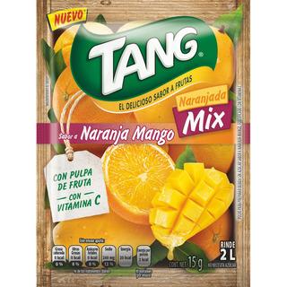Bebida Tang Naranjada Mix Sabor A Naranja Mango 8 Uni 15 Grs