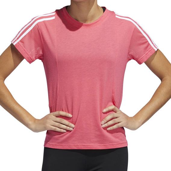 Remera adidas Training Mesh Mujer Fu/bl