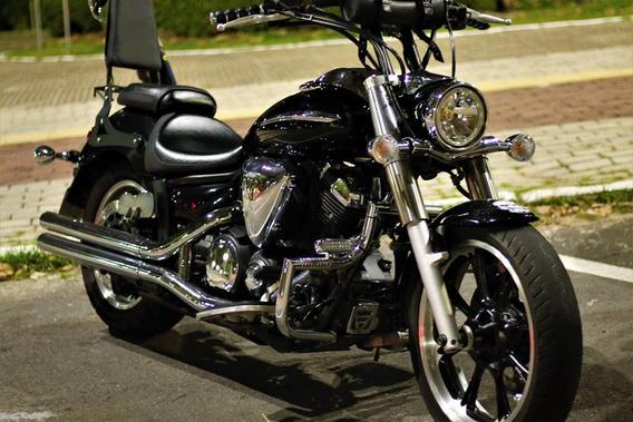 Yamaha 950cc Preta - 27mil Km (vulcan, Kawassaki, Harley Dav