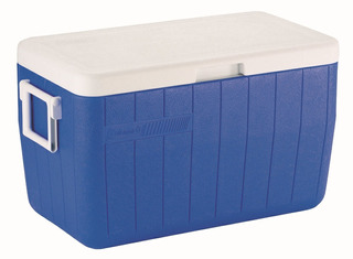 Caixa Térmica 48 Qt 45,4 Litros Azul Coleman