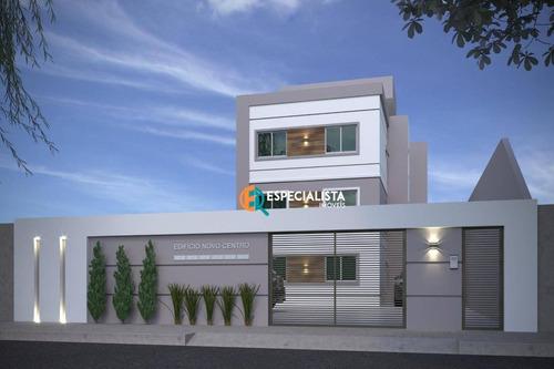 Cobertura Com 2 Dormitórios À Venda, 126 M² Por R$ 290.000,00 - Novo Centro - Santa Luzia/mg - Co0050
