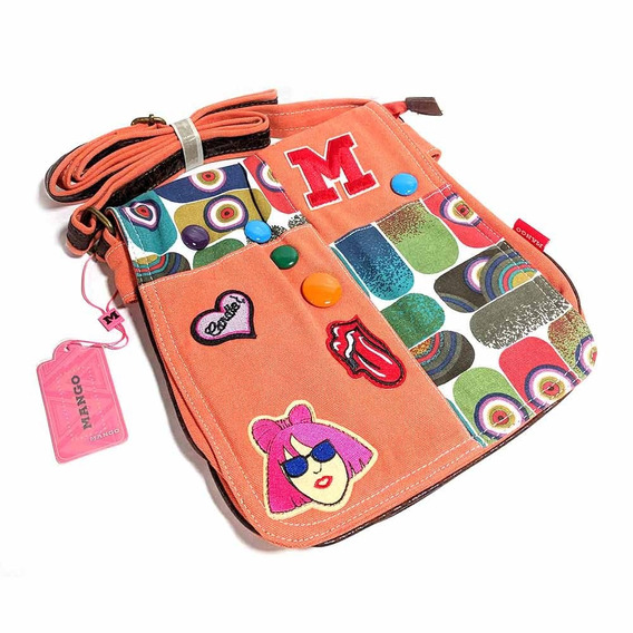 Morral Urbano Mango Patches Gs0469