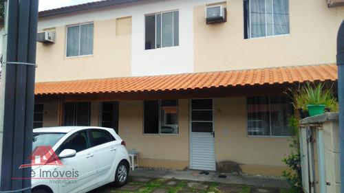 Casa Duplex C/ 2 Quartos  Em Guaratiba Rj - Ca0184