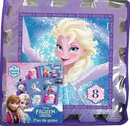 Pisos Blandos De Goma Eva Disney Frozen 9 Piezas Tapimovil