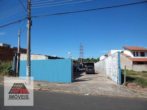 Terreno À Venda, 404 M² Por R$ 290.000,00 - Parque Residencial Jaguari - Americana/sp - Te0457