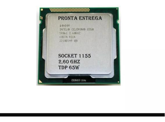 Processador Celeron G550 2.6ghz Lga 1155