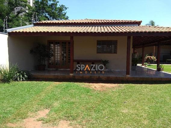 Chácara Residencial Para Locação, Jardim São Paulo, Rio Claro. - Ch0010